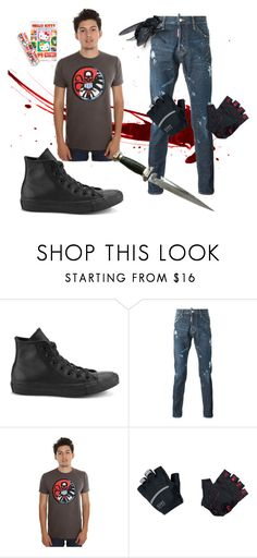 """""""aesthetic 7/18/16"""" by ashfey ❤ liked on Polyvore featuring Converse, Gore Bike Wear, Hello Kitty, men's fashion and menswear"""