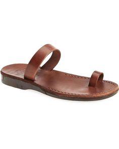 f56503e1e583 Eden. Jerusalem Sandals. Jesus SandalsBrown SandalsLeather ...