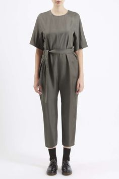 Photo 3 of Silk Twill Judo Jumpsuit by Boutique
