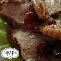 Visit Meade Cafe for the most delicious meals and snacks. Not only delectable, but we have loads of healthy, but tasty options as well. #meadecafe #lunch