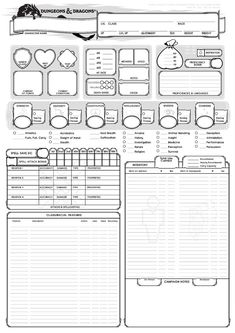 [OC] I made a custom Character sheet for the paladin in our group - let me know what you think? Dungeons And Dragons 5, Dungeons And Dragons Characters, Dungeons And Dragons Homebrew, D D Characters, Rpg Character Sheet, Character Sheet Template, Character Creation, Dnd Bard, Dnd 5e Homebrew