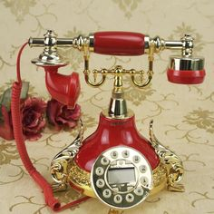 vintage and fun telephones - Google Search