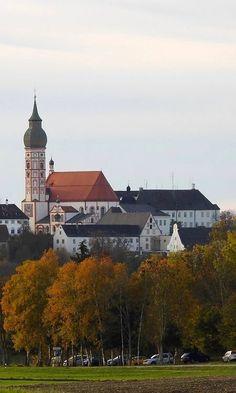ღღ Autumn impression at Kloster Andechs, Upper Bavaria, Germany France Travel, Germany Travel, Travel Europe, Beautiful Sites, Beautiful World, Wonderful Places, Beautiful Places, Beau Site, Nuremberg Germany