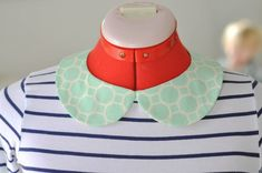Removable Peter Pan Collar // Kollabora Alt Summit Challenge by danielle wilson | Project | Sewing / Accessories | Kollabora