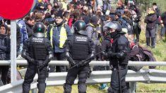 Spanien Katalonien Proteste (Getty Images/AFP/R. Roig)