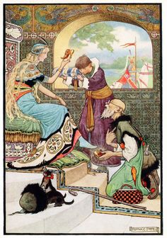 The Russian Story Book illustrated by Frank C. Pape