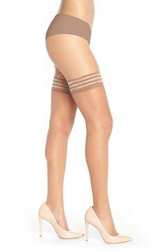 1042ea992de Nubian Skin Sheer Matte Stay-Ups Stiletto Heels