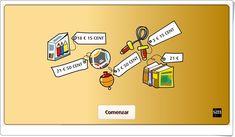 """""""Resuelve problemas de dinero"""" (Actividad interactiva de Matemáticas de Primaria) Money Problems, Problem Solving, Maths Area, Interactive Activities, Teaching Resources"""