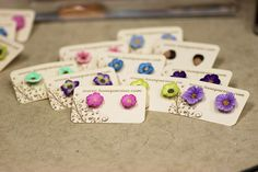 #Earring Cards    share .. repin .. like