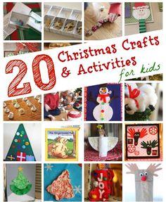 Christmas Box Counting & Number Matching Christmas Present Patterning Santa Countdown Handprint Christmas Wreath Homemade Snow Globe Puffy Snowf