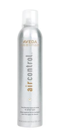It gets windy here so make sure you have your Aveda Air Control hair spray. with a flexible, lasting hold hair spray—for all hair types