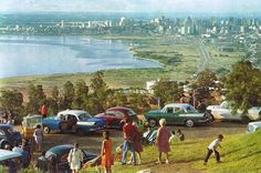 Cartão postal de Porto Alegre -RS nos anos 60.
