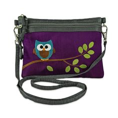 2 Zip Messenger - Owl