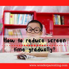 If your child is using the screen for long hours, initially it might be difficult to make changes drastically. Help them to reduce the screen time gradually Parenting Articles, Kids And Parenting, Parenting Hacks, Screen Time For Kids, Time Kids, Internet Safety For Kids, Train Up A Child, Happy Parents, Kids Online