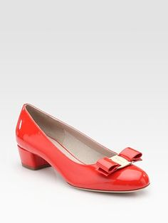 "The classic Ferragamo ""Vara"" flats. Need these for work in every color"