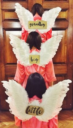 Pi Beta Phi angel wings for gbig, big, and little! #piphi #pibetaphi