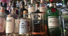 RHBC's gin bar