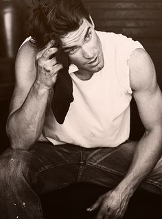 Matt Bomer- 1. His husband is so lucky. He seems dreamy. 2. IF we are getting on the remakes train, the Outsiders- Hello! He is totally a greaser.