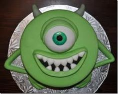 monsters+inc+cupcake+ideas | Thread: Dinosaur or monsters inc cakes how would you do?