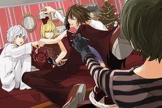 Death Note Christmas Near, Mello, Matt and L