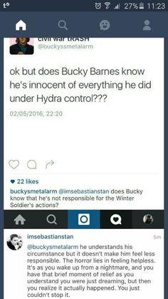 <><> Sebastian Stan on Bucky.