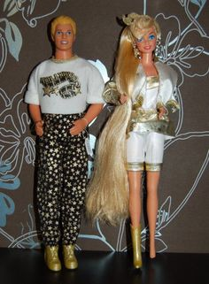 Barbie Et ken hollywood hair 1993