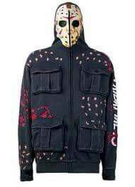 Jason Voorhees hoodie I want! Jason Friday, Friday The 13th, Happy Friday, Scary Movies, Horror Movies, Horror Villains, Slasher Movies, Funny Movies, Vetement Hip Hop