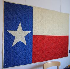 Items similar to Perfect Wedding Gift - Texas Flag Quilted Throw on Etsy Texas Quilt, Flag Quilt, Patriotic Quilts, Shirt Quilt, Star Quilts, Quilting Projects, Quilting Designs, Quilting Ideas, Quilting For Beginners