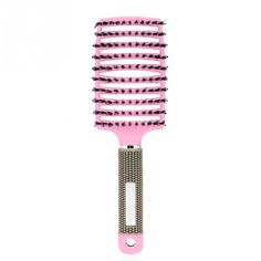 Spdoo Bristle Nylon Detangle Hairbrush Hair Scalp Massage Comb Wet Hair Brush for Salon Hairdressing Styling Tools *** You can get more details by clicking on the image. #hairdresser