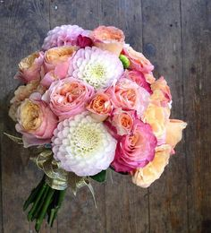 Vuvuzela rose, Miss Piggy rose and Dahlias and Augusta Luise.  LIKE the white flower.