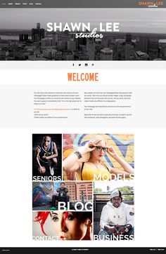 34 best 2017 zibster website templates images on pinterest models greene street zibster website templates great for photographers or a small business wajeb