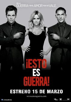 !Esto es Guerra! Con Reese Witherspoon, Chris Pine y Tom Hardy
