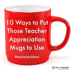 What to Do With All Those Mugs!