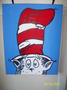 dr seuss art print by skye dr seuss paintings and. Black Bedroom Furniture Sets. Home Design Ideas