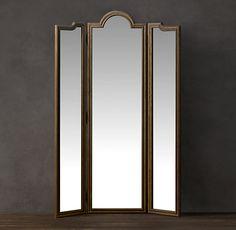 Standing Triptych Mirror