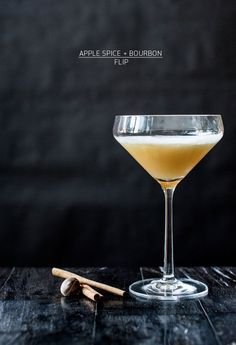 Thirsty Thursday: Apple Spice & Bourbon Flip