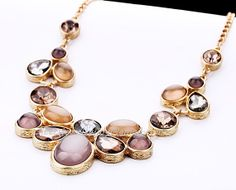 Love this, had to share! Bubble Bib Necklace Statement Chunky Necklace by TrendJewellery, $14.99