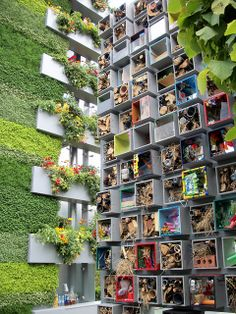 Bug Hotel at chelsea flower show by b16dyr, via Flickr