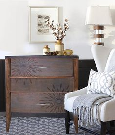 Driftwood Mid-Century Modern Nightstand Project