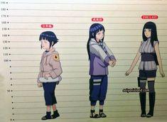 Hinata Hyuga Height And Weight