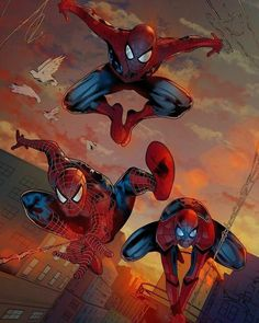 There's three Spider-Men