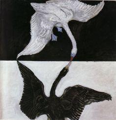 The Swan (No. 17) - Klint Hilma at