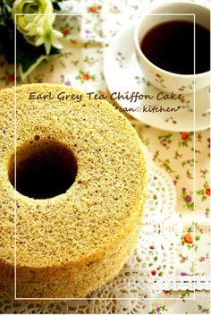 Black+Tea+Chiffon+Cake+(Earl+Grey)