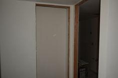 hall, closet and bathroom doorway -