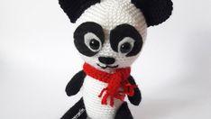 panda-kuki Panda, Crochet Hats, Teddy Bear, Toys, Animals, Amigurumi, Knitting Hats, Activity Toys, Animales