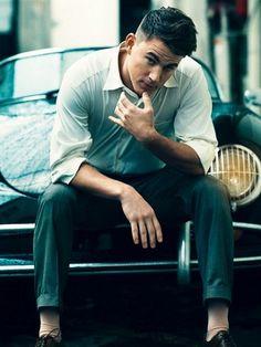 Channing Tatum's Vanity Fair shoot. Too hot.