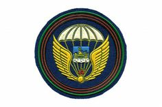 """SLEEVE PATCH OF 331ST AIRBORNE REGIMENT. The regiment is a part of the 98th Svir Airborne Division.  Motto: """"Honor, Motherland, Glory!""""  At the heart of the emblem of the 331st Guards Airborne Regiment is the coat of the Kostroma region, where the military unit is stationed. #Patch #Embroidery #Design #PatchTuesday #Motorcycle #Fashion #sleeve #sleevepattren #patches #Art #military #armedforces #armynavyshop #army #russian #awards #gift #decoration #souvenirs #airborne #paratrooper #wings…"""