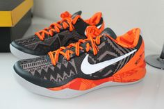 Nike Kobe 8 system BHM size 8.5 DS Jordan Lebron SB 9 10 11