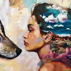 Resultado de imagen para no te rindas persigue tus sueños cuadros en pintura