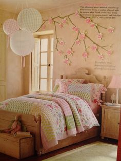 Floral mural. From PBK